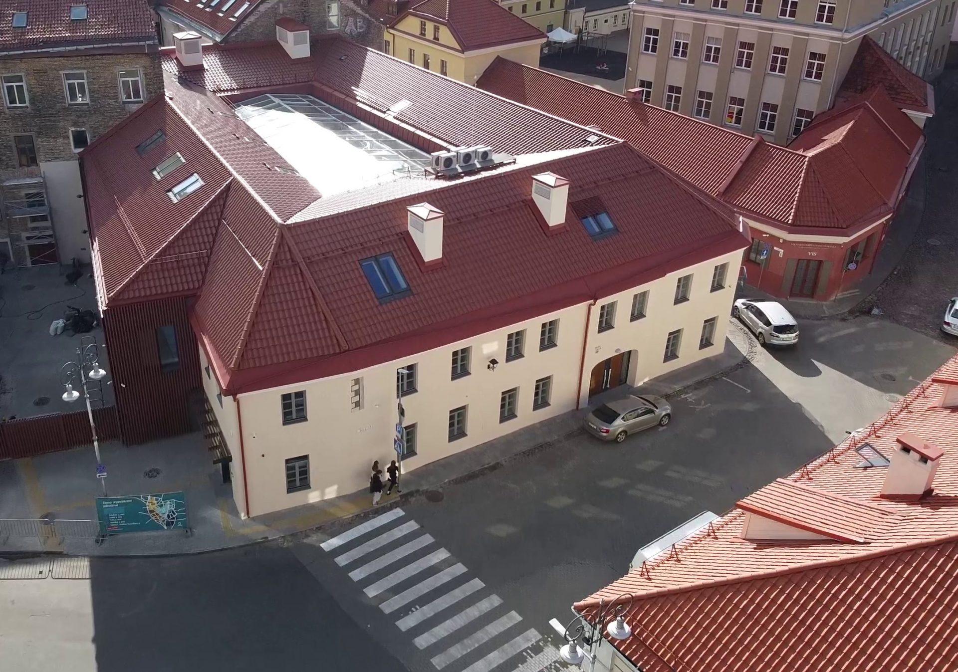Užbaigta mokslo paskirties pastato Rusų g. 5, Vilniuje rekonstrukcija