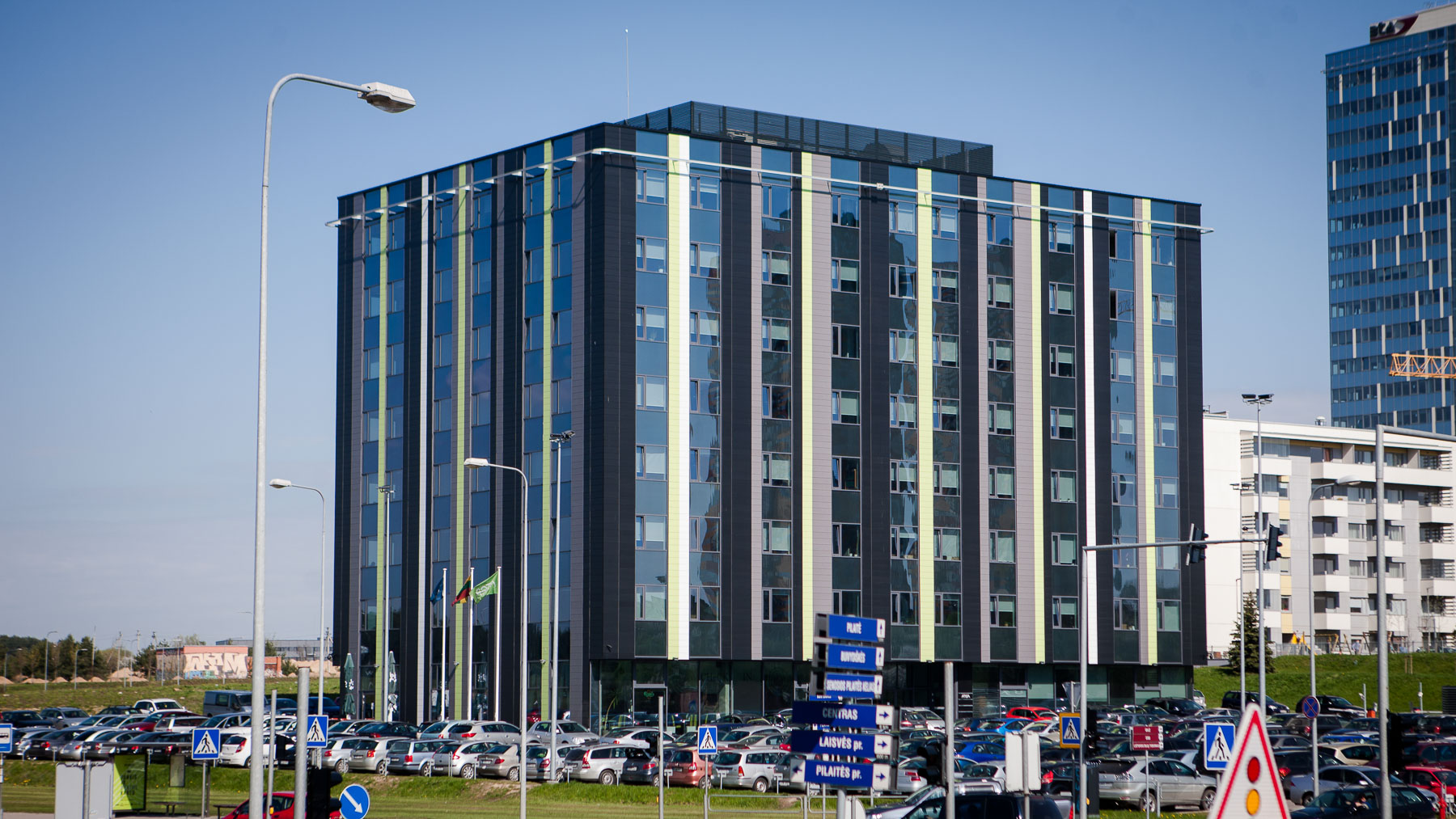 "UAB ""Sonex Consulting"" business center J. Rutkausko st. 6, Vilnius, construcion works"
