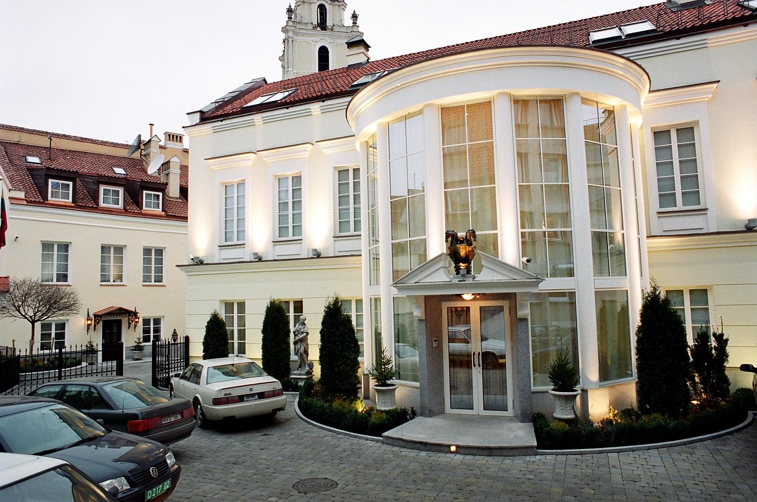 Dr. J. Kazickio rezidencija, statybos darbai