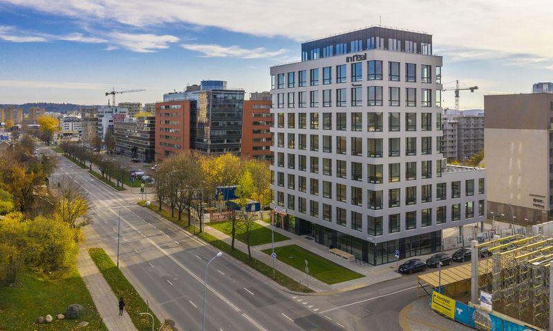 """""""Inreal"""" sostinės Šnipiškėse baigė 7,2 mln. Eur vertės biurų plėtrą"""