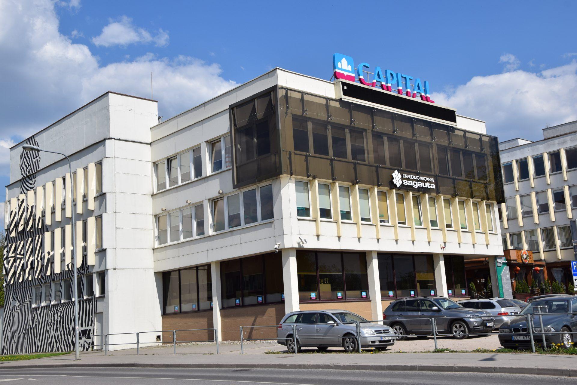 """Adminitracinis pastatas """"A"""" korpusas Konstitucijos pr. 23, Vilnius, rekonstravimo darbai"""
