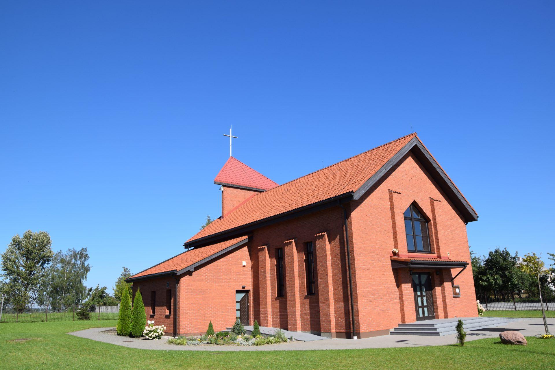 Chapel construction works in Nemėžis
