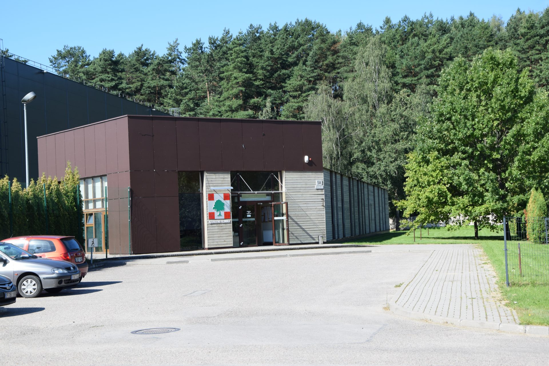 Psichiatrinės reabilitacijos klinikos Ąžuolyno g. 5, Vilnius, rekonstravimo darbai