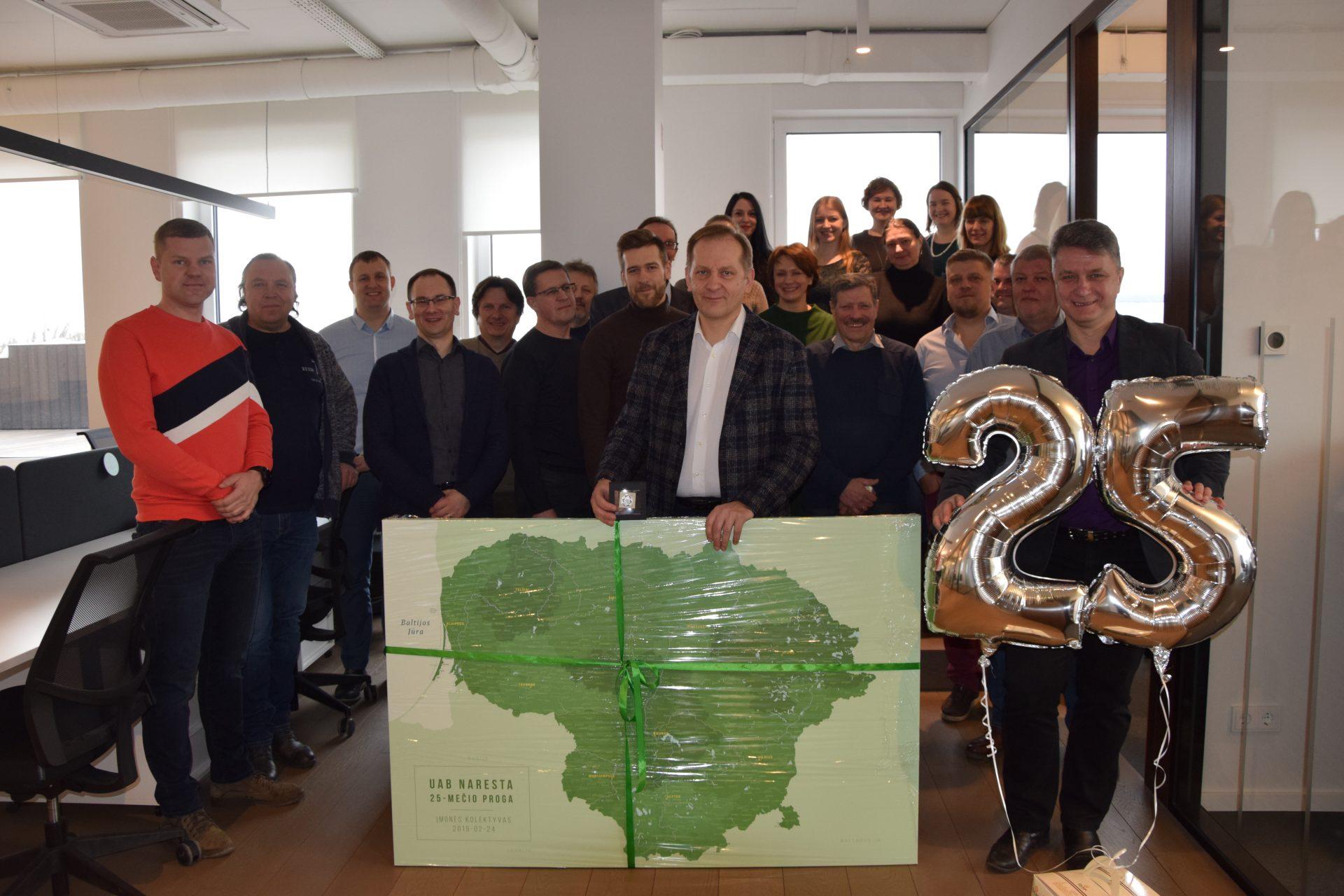"""UAB """"Naresta"""" švenčia savo veiklos 25-metį!"""