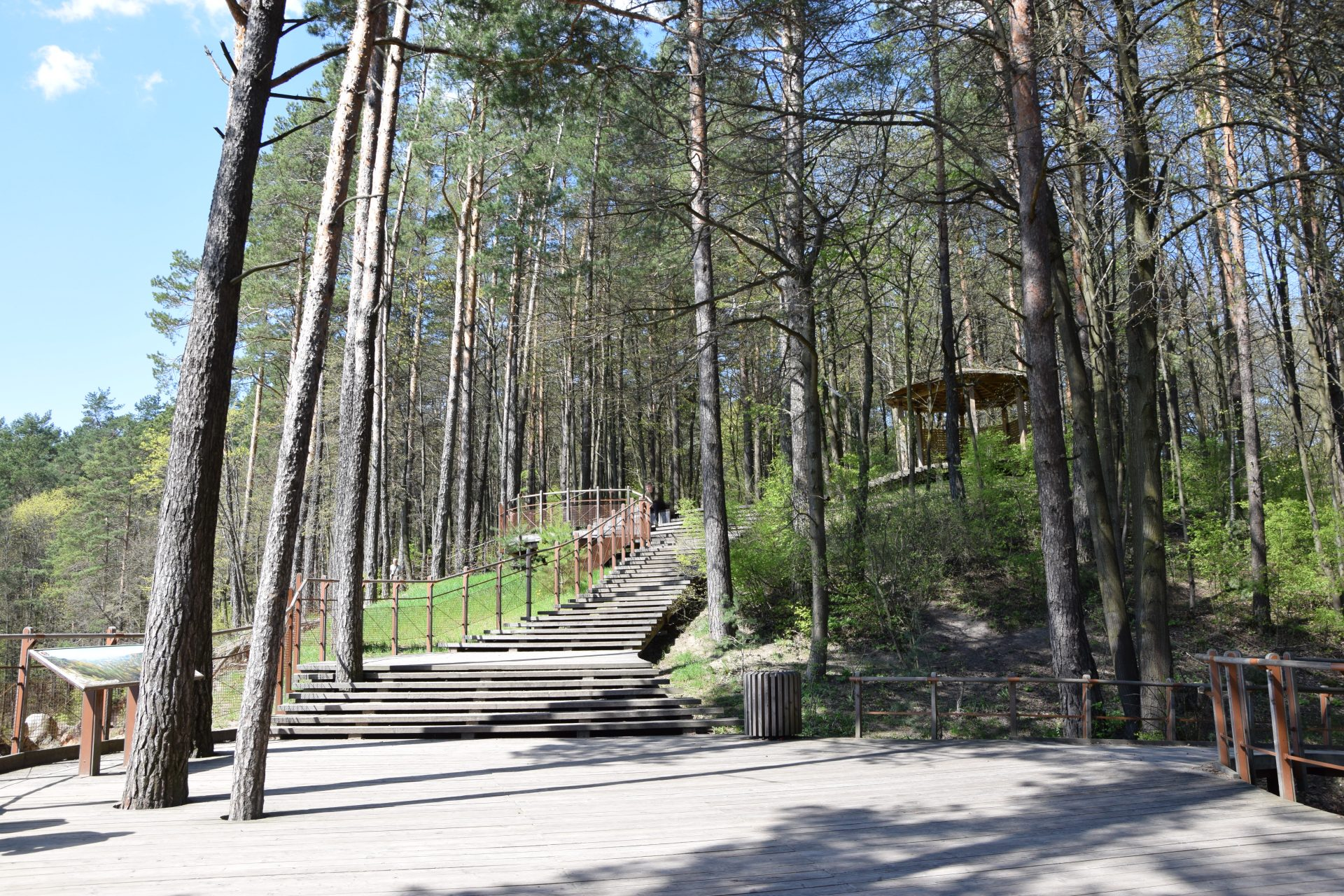 Installation of information systems and minumum infrastructure for visitors in Lithuanian regional parks