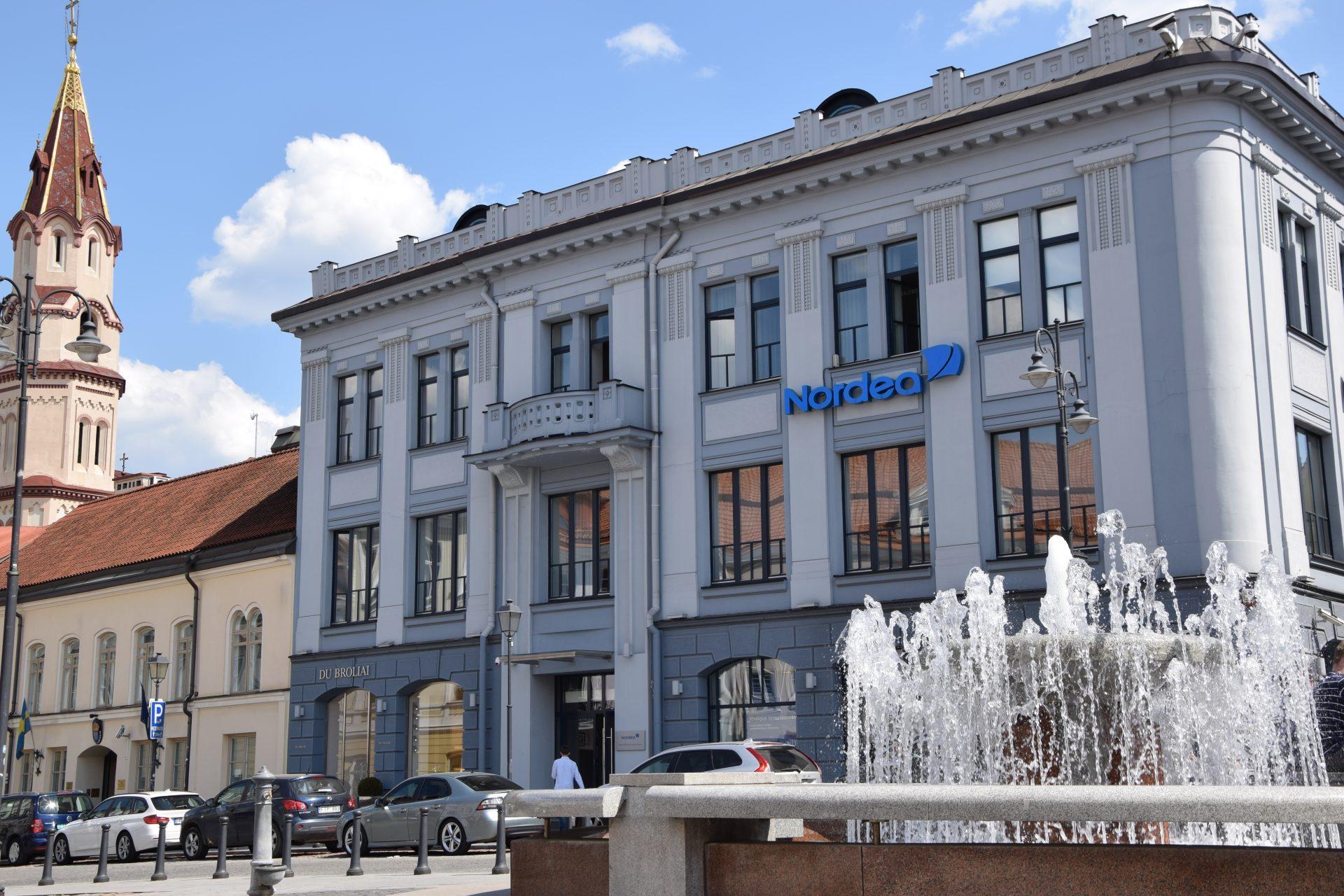 Nordea banko filialo rekonstravimo darbai