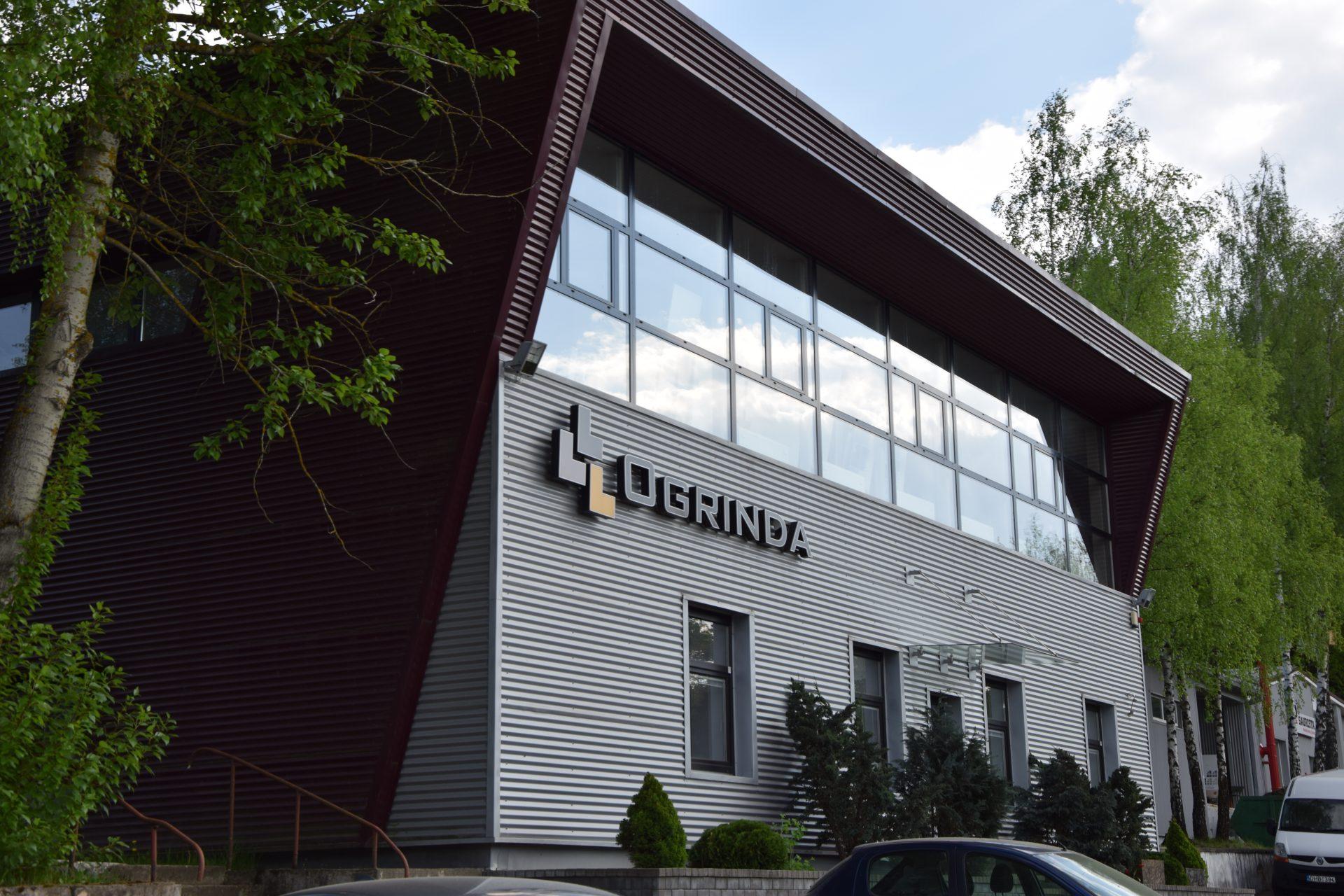 """UAB """"Ogrinda"""" administracinio pastato ir sandėliavimo patalpų statybos ir rekonstravimo darbai"""
