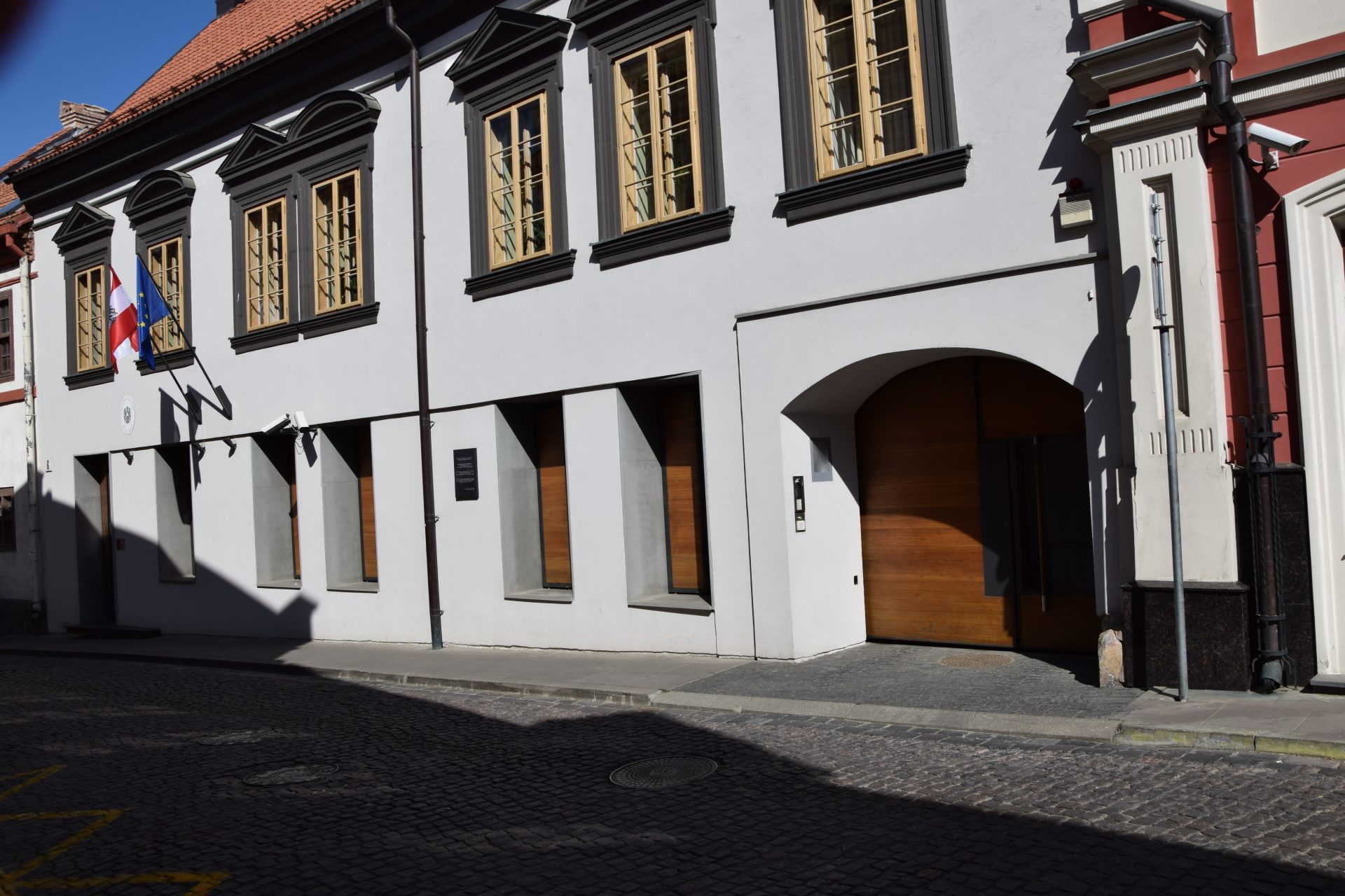 Austrijos ambasados rekonstravimo darbai