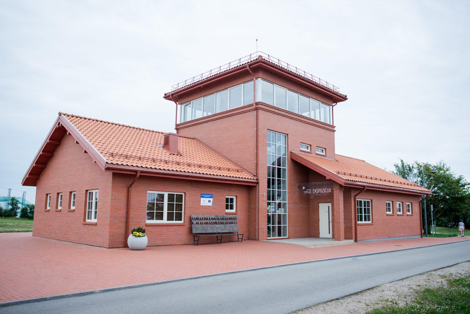 VENTĖS RAGO ORNITHOLOGY STATION VISITORS CENTER RECONSTRUCTION