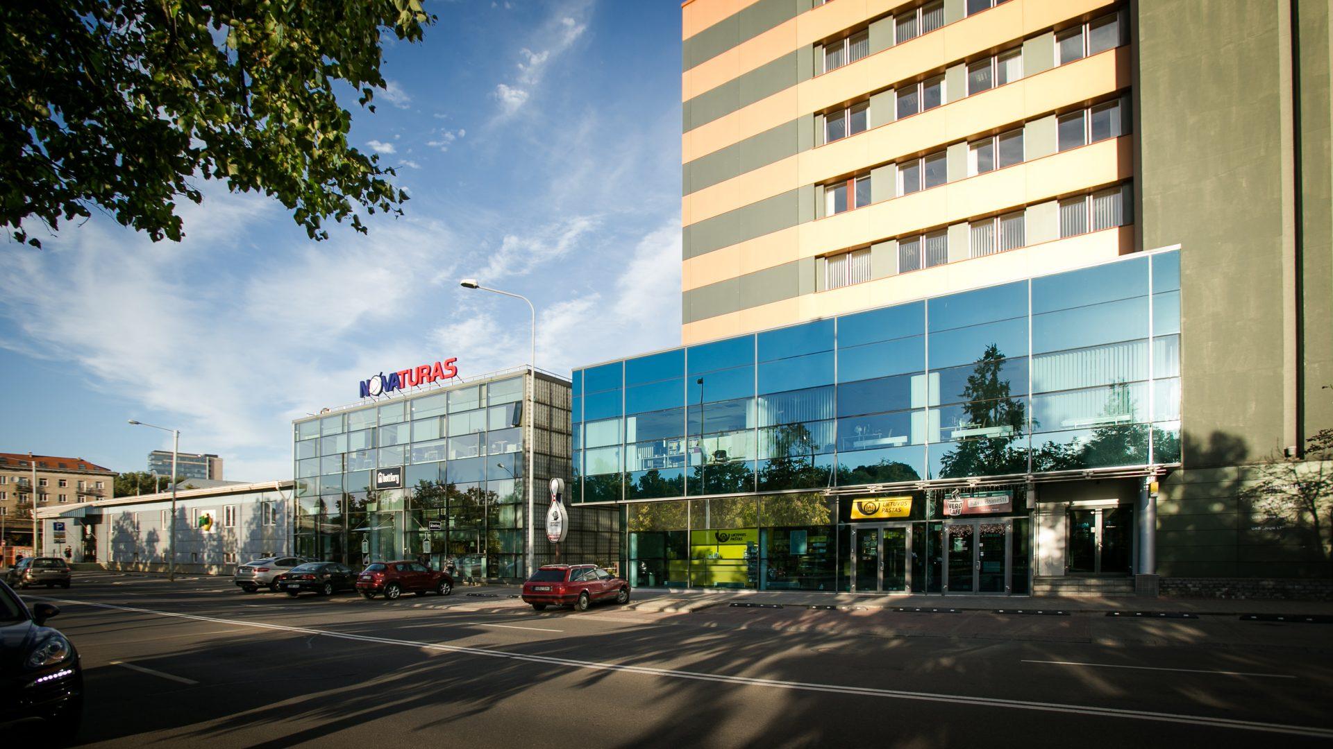 Biurų pastato J. Jasinskio g. 16, Vilnius statybos darbai