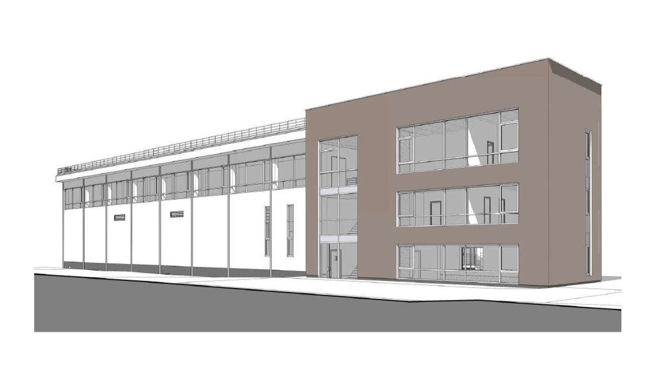 """Pradedama """"Magrės baldų"""" sandėliavimo paskirties su administracinėmis patalpomis pastato statyba"""