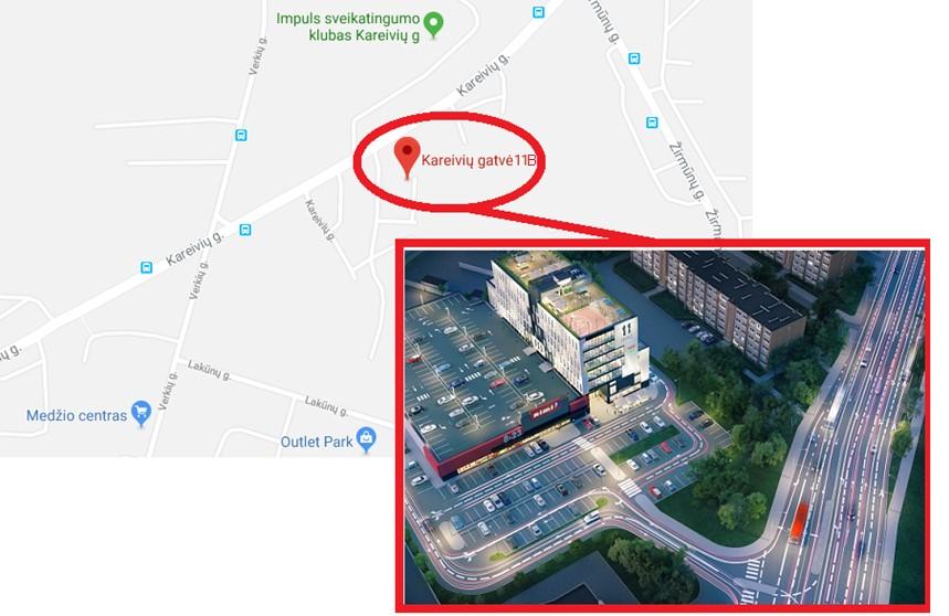 """Nuo 2018 m. vasario 9 d. UAB """"Naresta"""" persikėlė į naują biurą"""