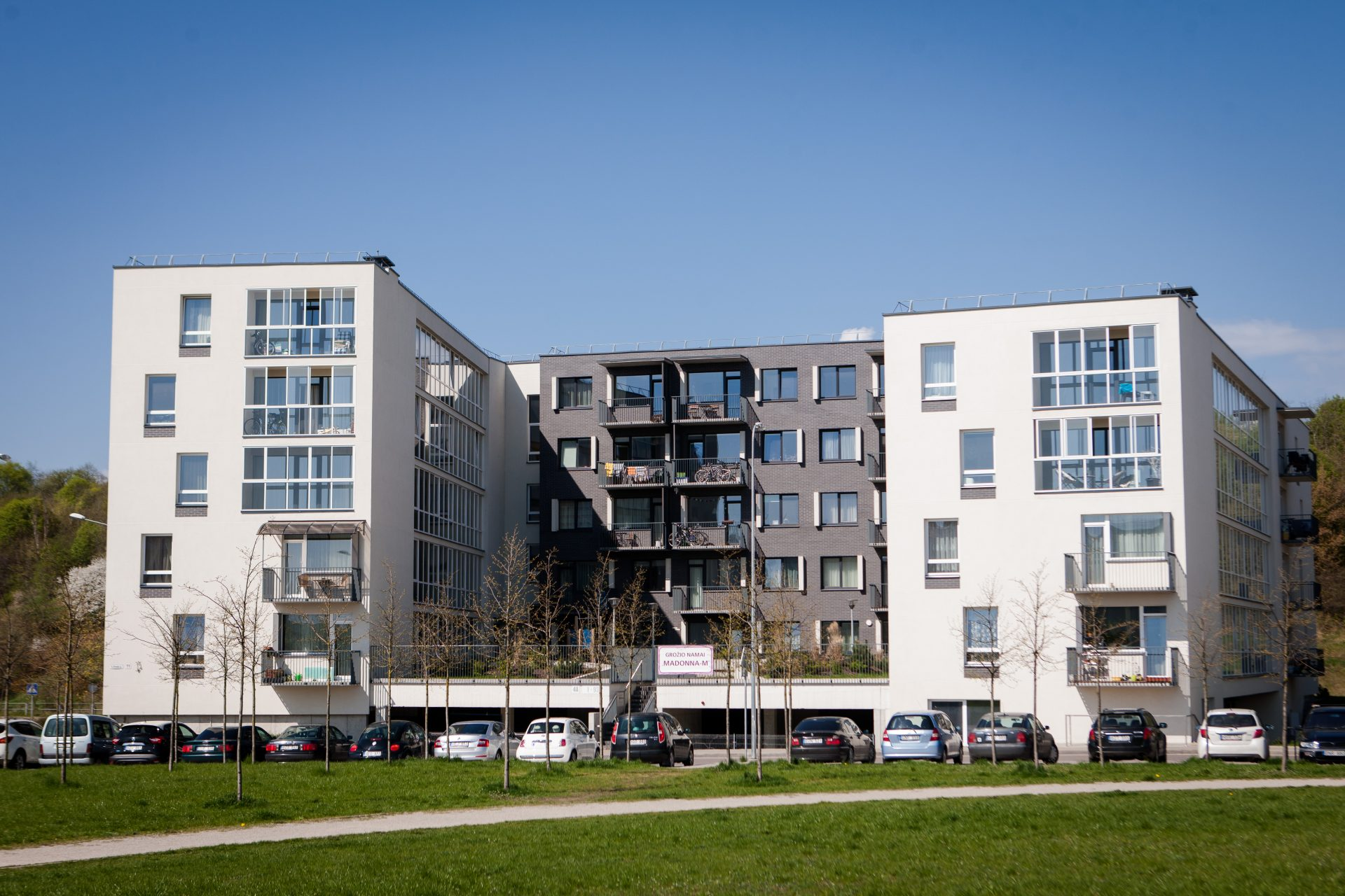 Buildings at K. Ulvydo st. 11 and 11A, Vilnius monolith, collected reinforced concrete and masonry-type construction installation works