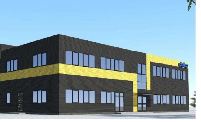 Pradedama sandėliavimo paskirties pastato su administracinėmis patalpomis statyba