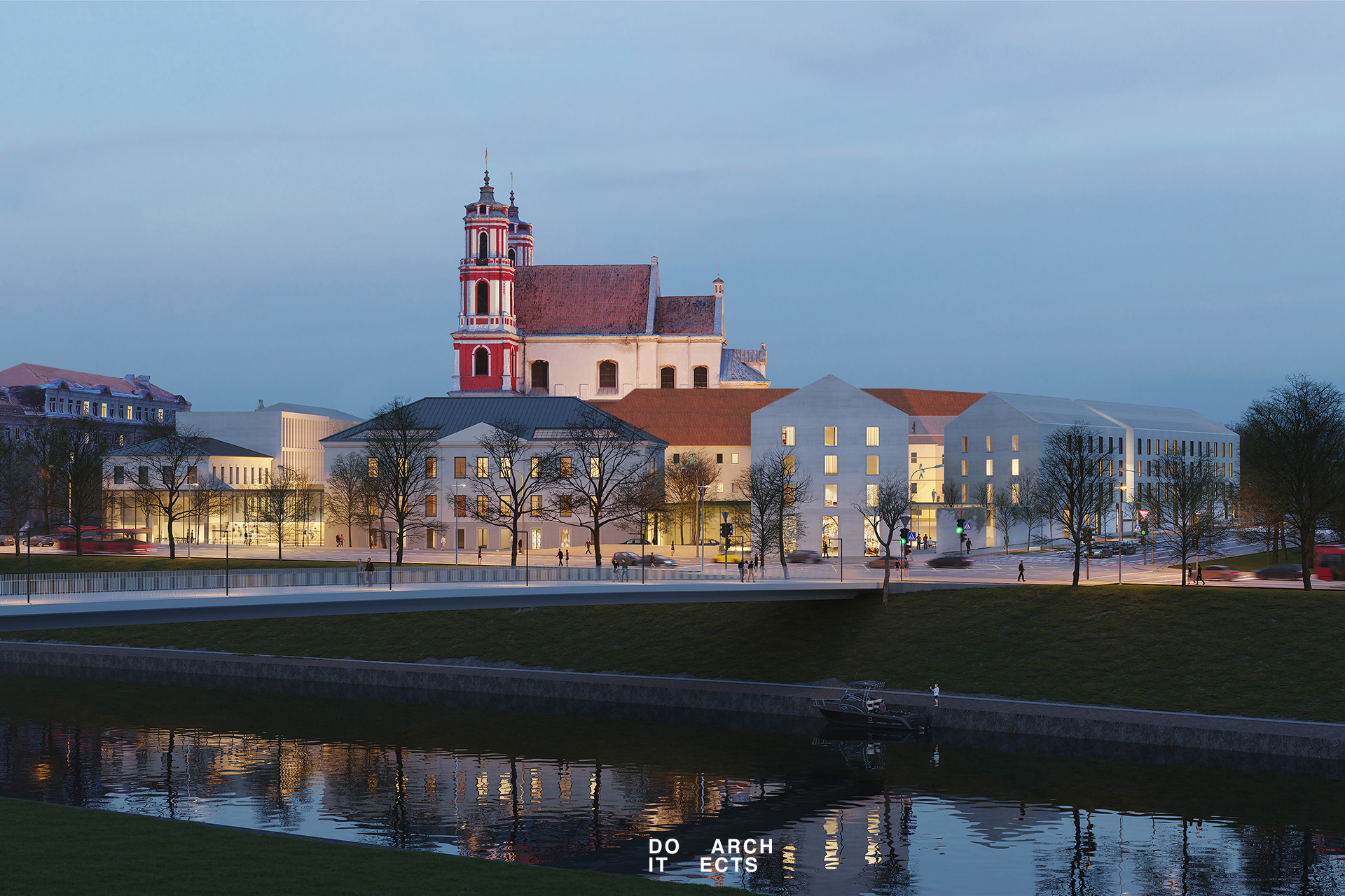 """""""Naresta"""" pradeda statybas  buvusios Šv. Jokūbo ligoninės teritorijoje"""