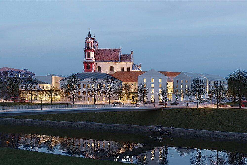 Vilniaus centre vietoj buvusios Šv. Jokūbo ligoninės iškils Vasario 16-osios kompleksas